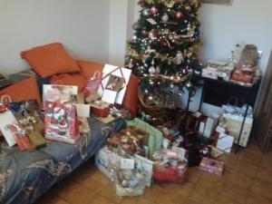 Ancora mi stupisco come faccia Babbo Natale a portare tutti quei pacchi in una sola notte...